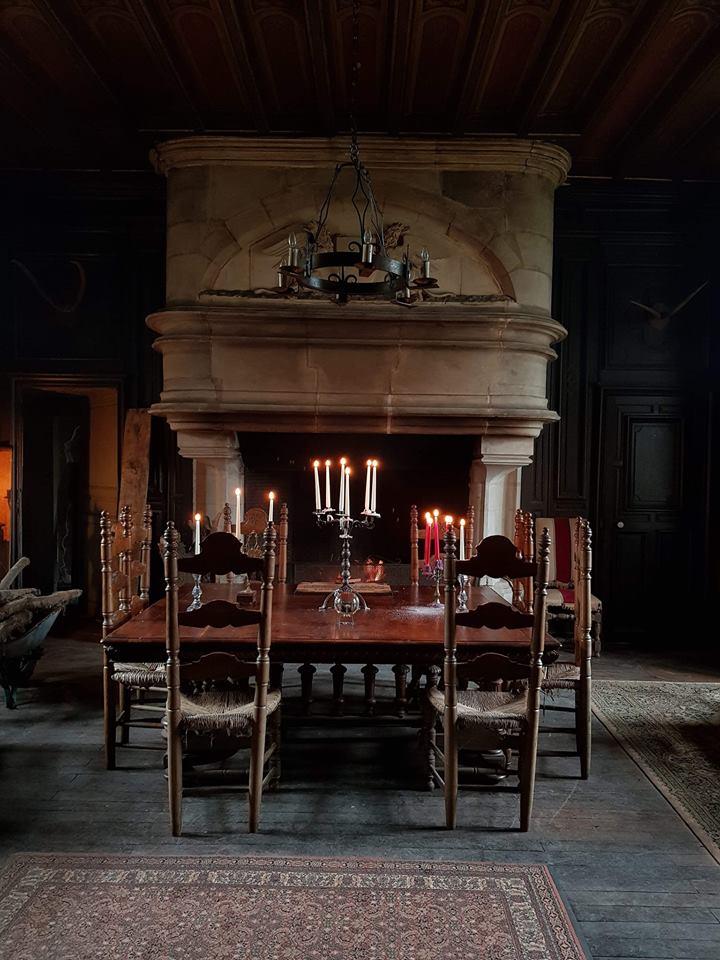 Salle à manger | Château de Fougeret