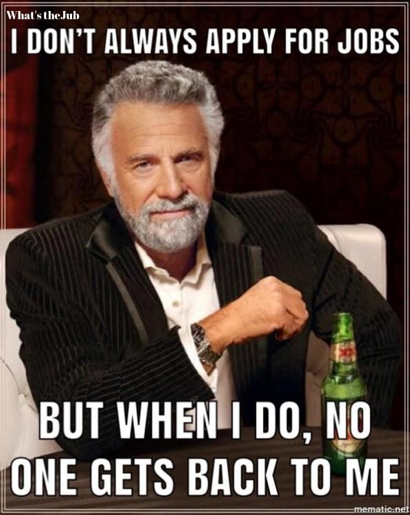 Job Application Meme