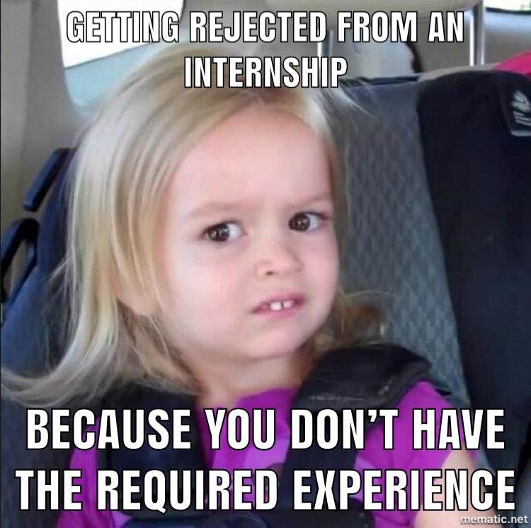 Internship Meme