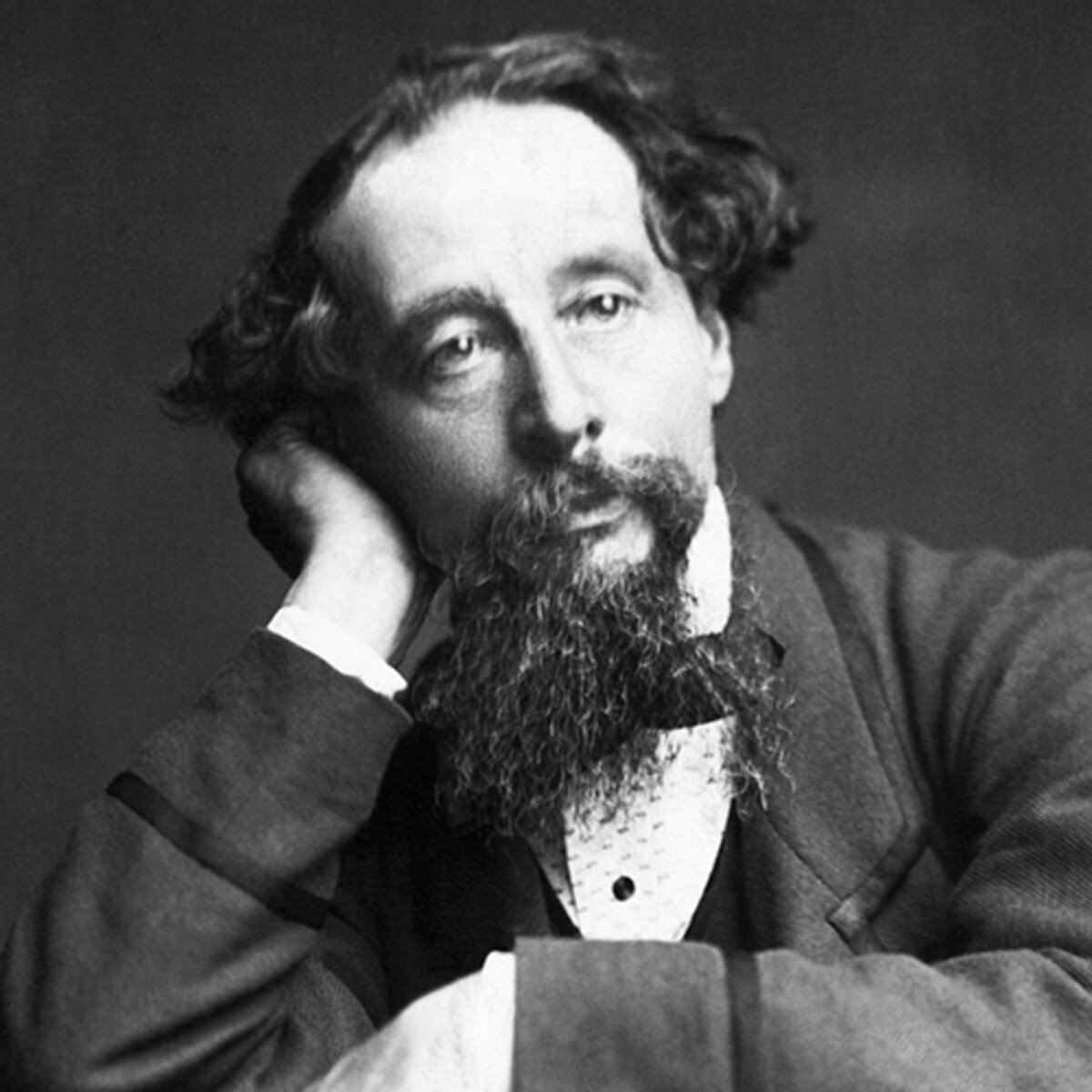 """""""The sun (itself) is weak when he first rises and gathers strength and courage as the day gets on."""" -Charles Dickens - Image Source - Biography.com"""