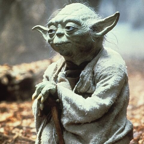 """""""Do or do not. There is no try."""" -Yoda - Image Source - Esquire.com"""