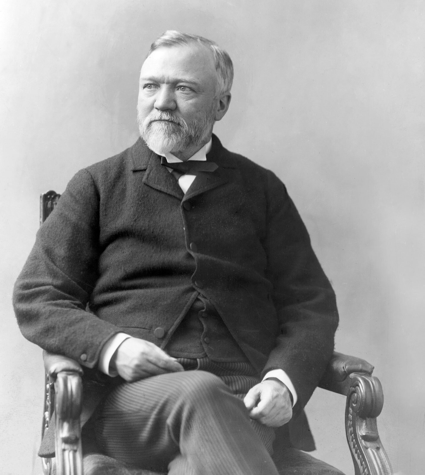 """""""Teamwork is the ability to work together toward a common vision, the ability to direct individual accomplishments toward organizational objectives. It is the fuel that allows common people to attain uncommon results."""" -Andrew Carnegie - Image Source - Britannica.com"""