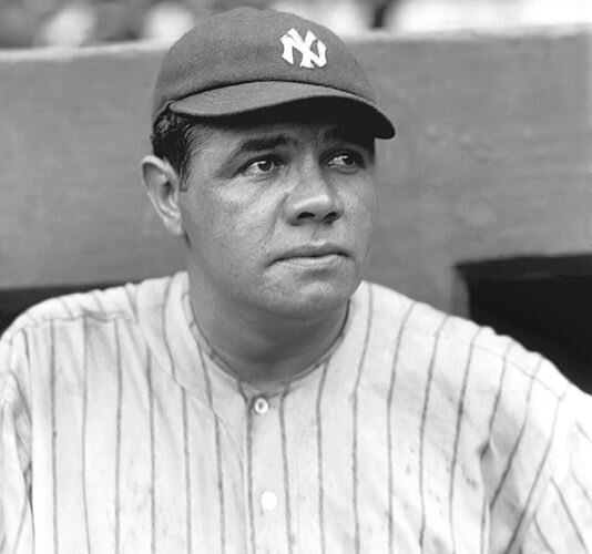 """Every strike brings me closer to the next home run."" -Babe Ruth - Image Source - Blackenterprize.com"
