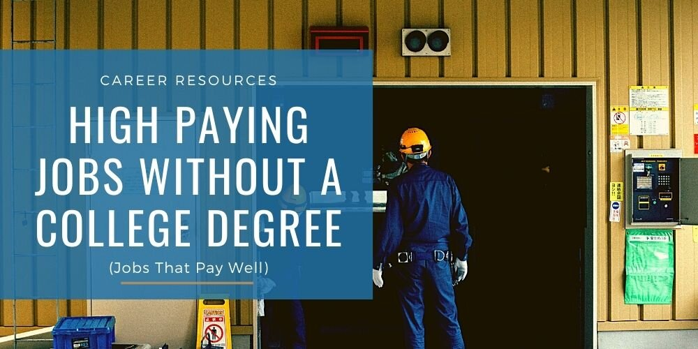 Best Jobs without a Degree