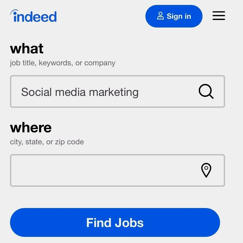 Utilize Job Search Engines -