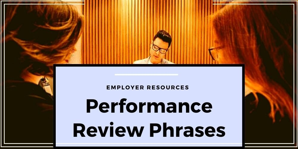 Performance Review Phrases to Increase Productivity