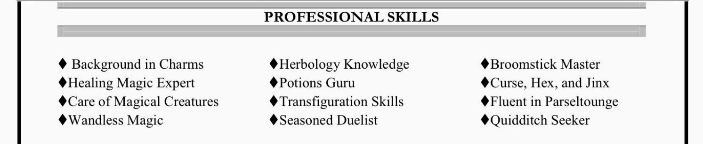 Tools and Skills -