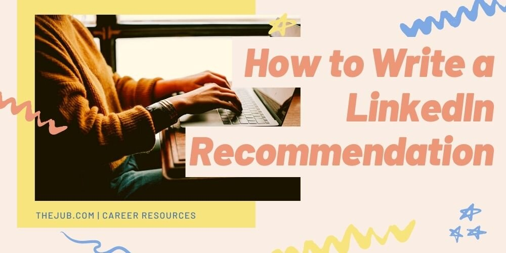 how to write a linkedin recommendation