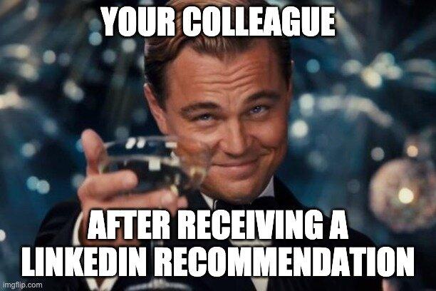 LinkedIn Recommendation Leo Picture