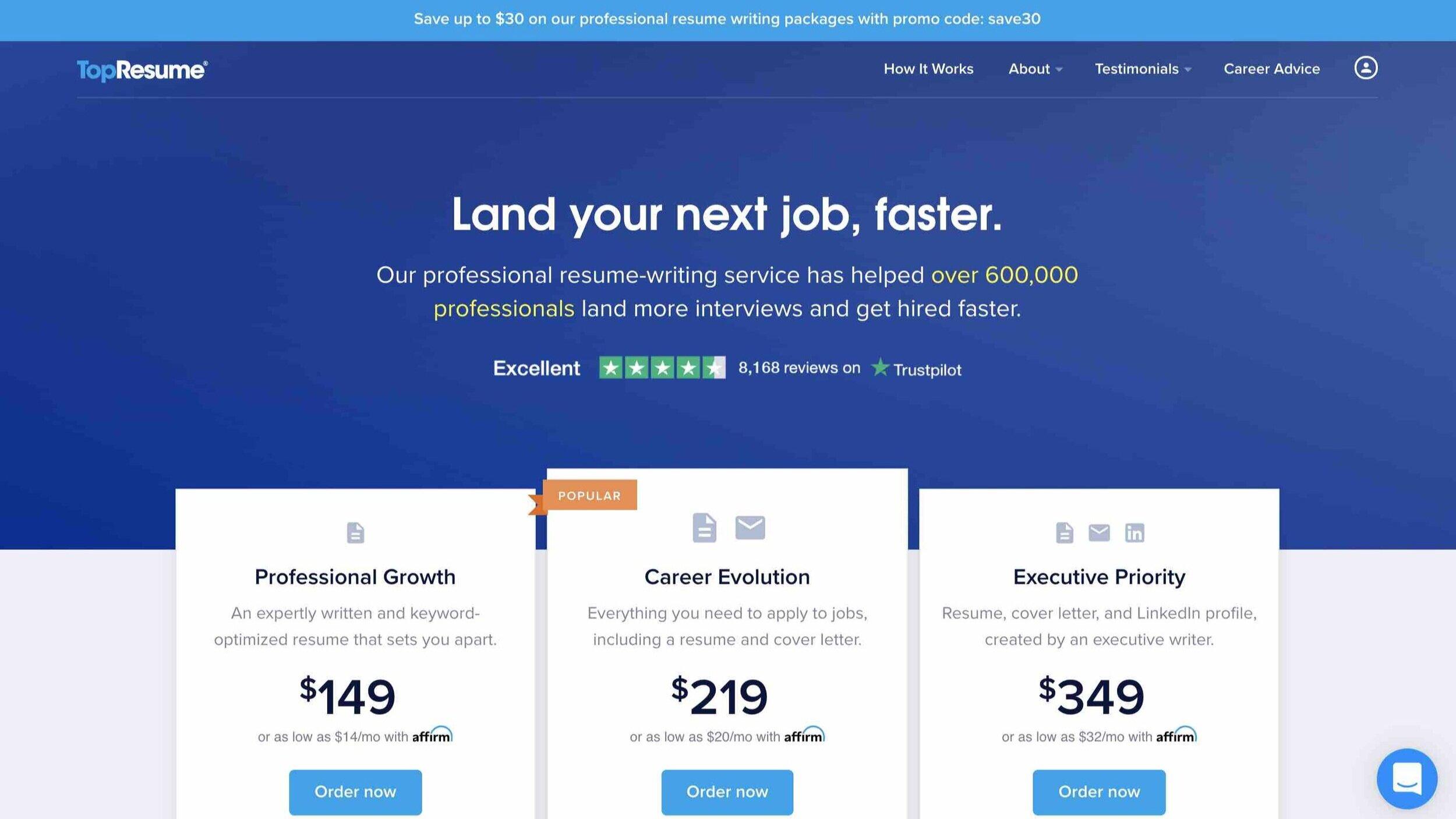 Top Resume LinkedIn profile writing service.jpg