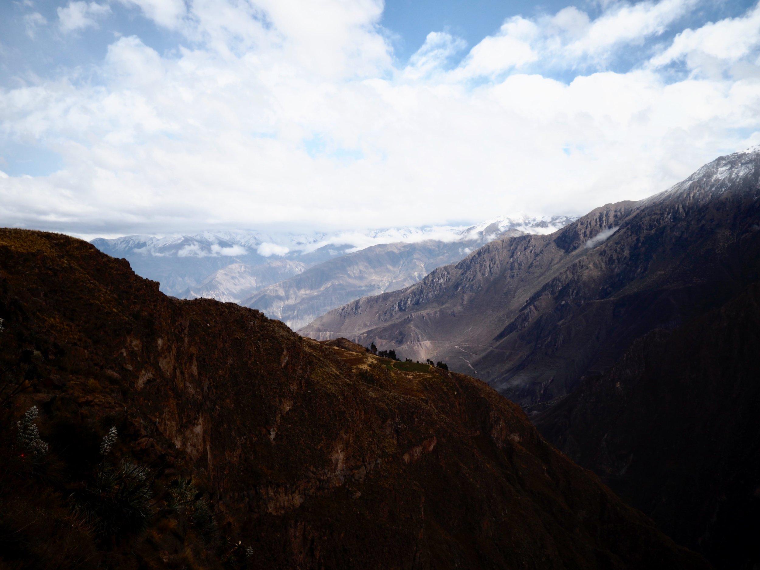 Colca-Canyon, einer der tiefsten Canyons der Welt