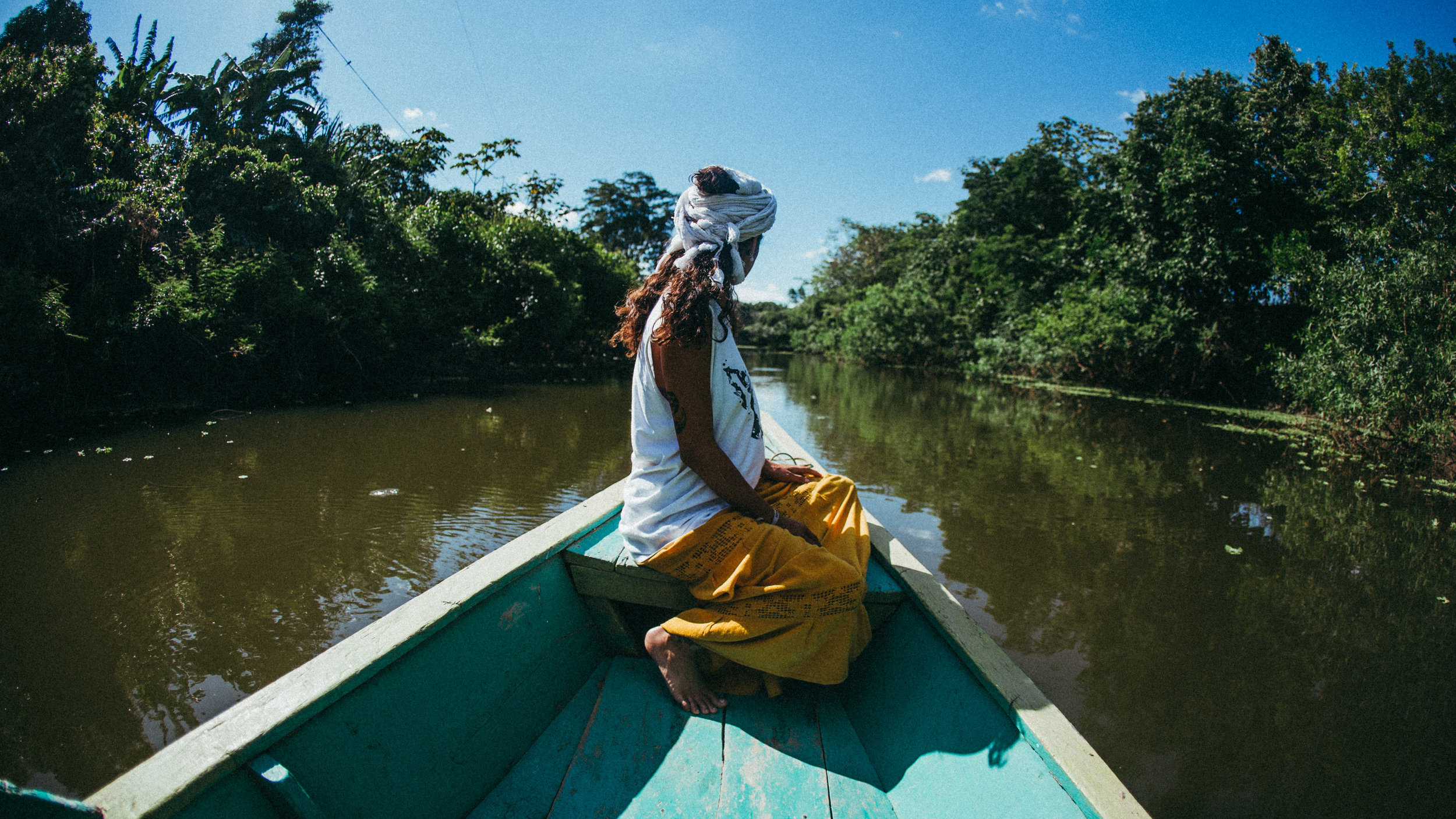 Bootsfahrt durch den Manu Dschungel