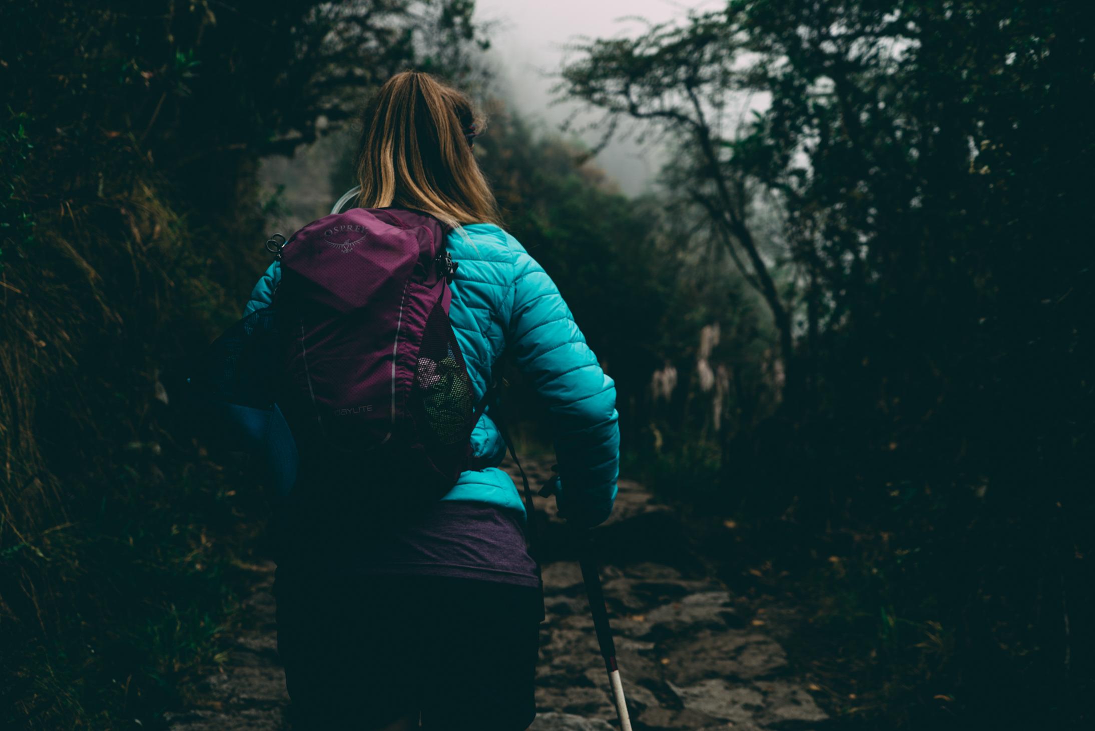 Durch den Bergregenwald Richtung Machu Picchu