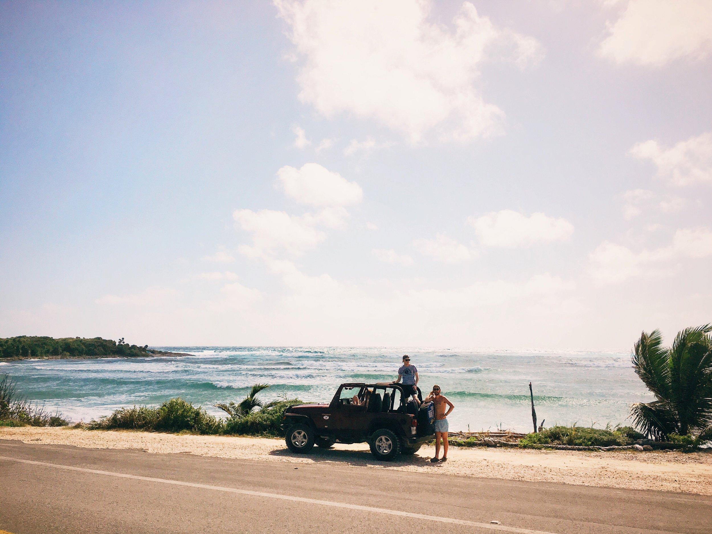 Jeep-Tour über die Isla Cozumel zum Kennenlernen