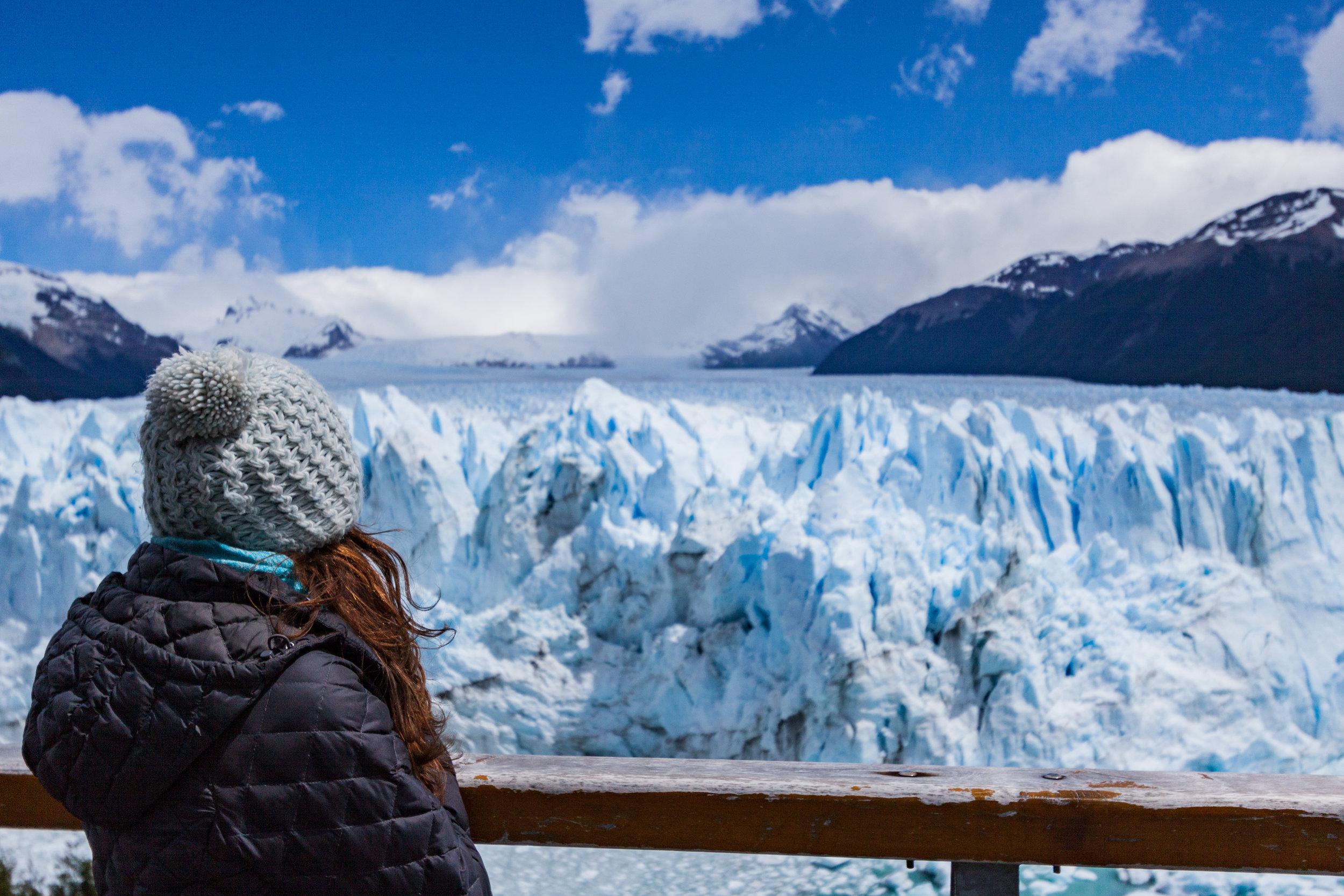 Der gigantische Perito-Moreno-Gletscher