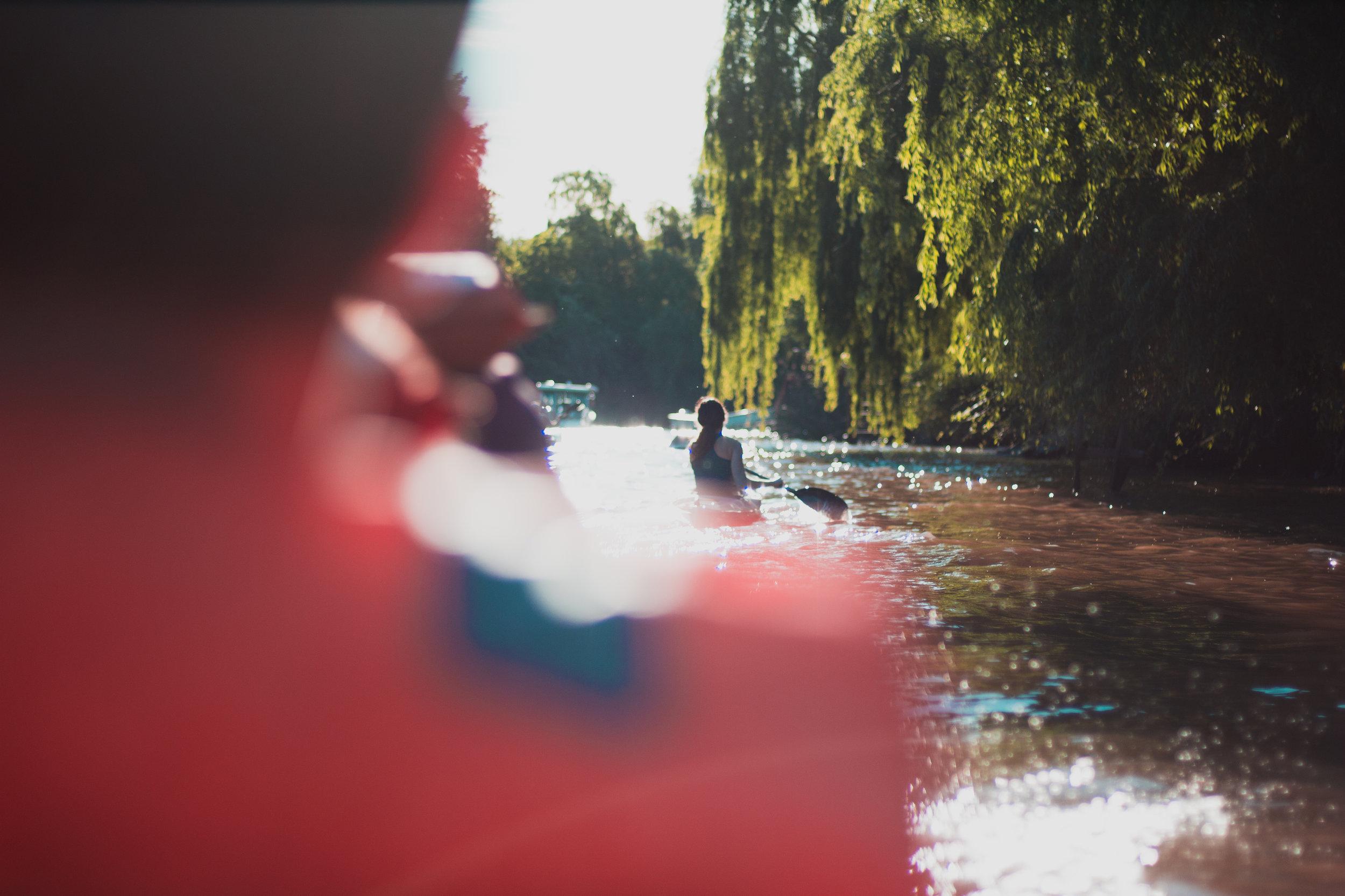Mit dem Kanu durch das Tigre-Delta