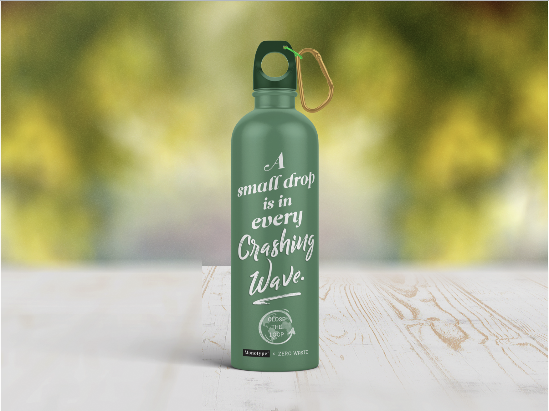 Coachella's setting in southern California's dessert means hydration is important, but many participants rely on plastic water bottles. We propose giving each attendee a refillable bottle to help minimize the festival's carbon impact.