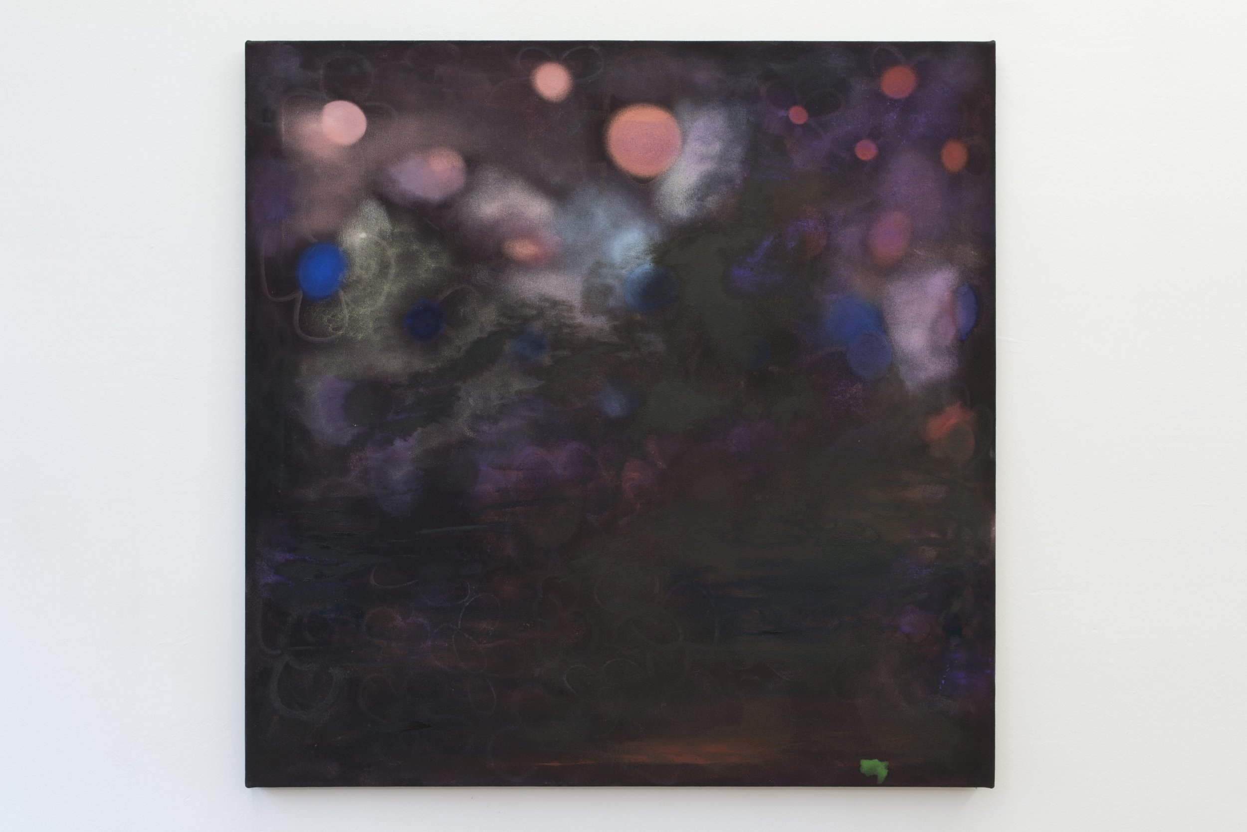 Kate Spencer Stewart,  null , 2018, oil on canvas, 32 x 32 inches (81.28 x 81.28 cm)