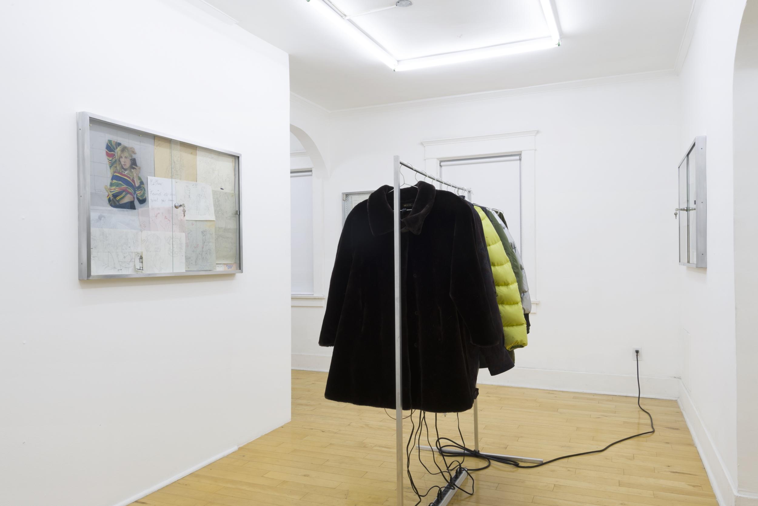 """Victoria Colmegna, """"Broken Ego,"""" installation view, Park View, Los Angeles, 2017"""