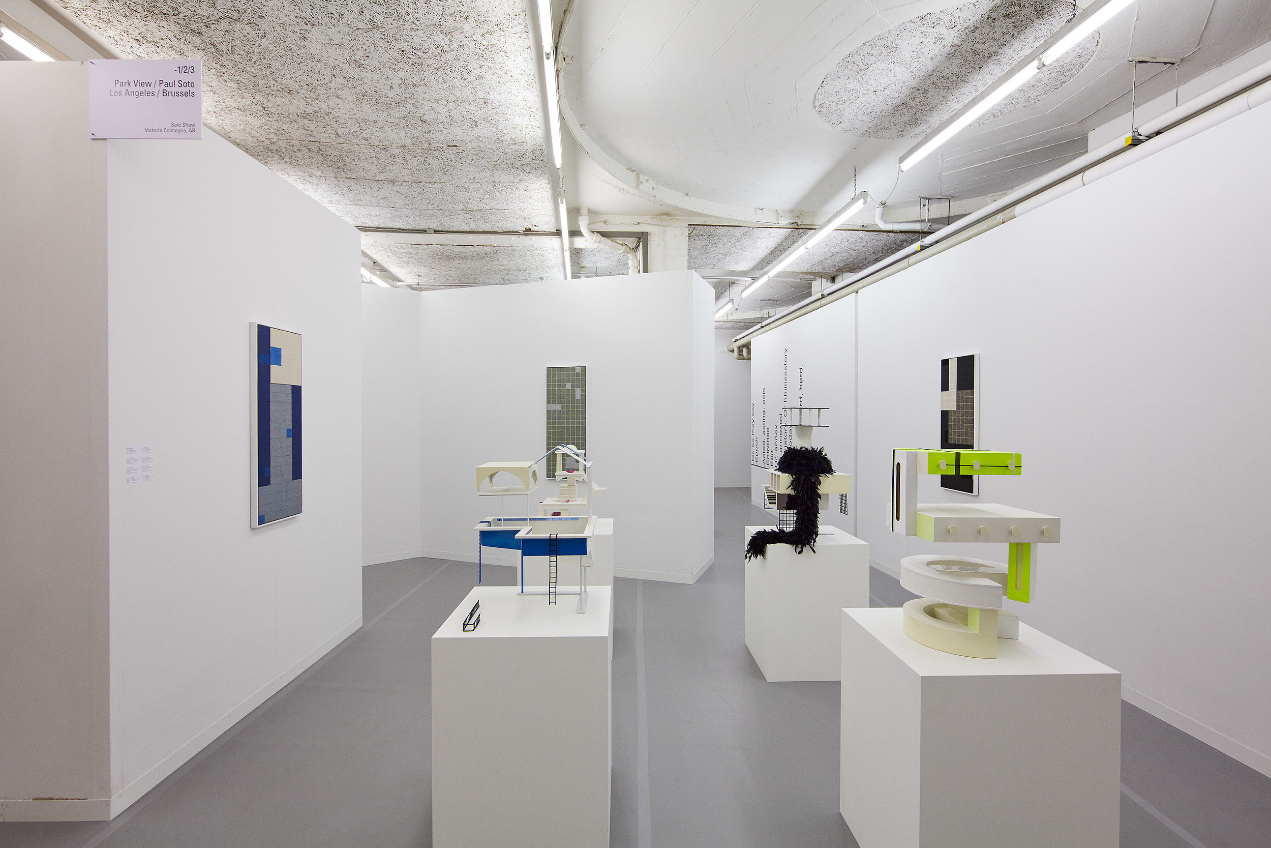 "Victoria Colmegna, ""Estado Real,"" with Park View/Paul Soto, LISTE, Basel, 2018"
