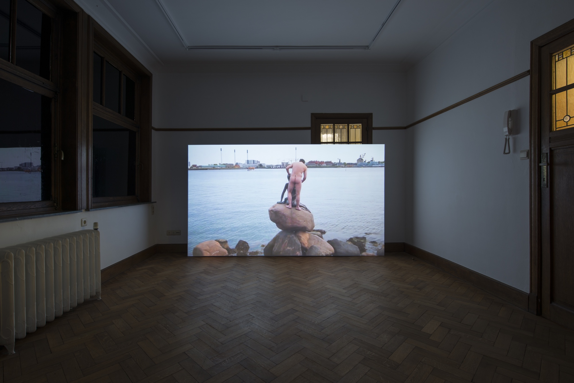 Dylan Mira,  A Woman is Not A Woman , installation view, 2014 - 2015 Single channel HD video, color, stereo sound TRT 22:00 Park View/Paul Soto, Brussels, 2018