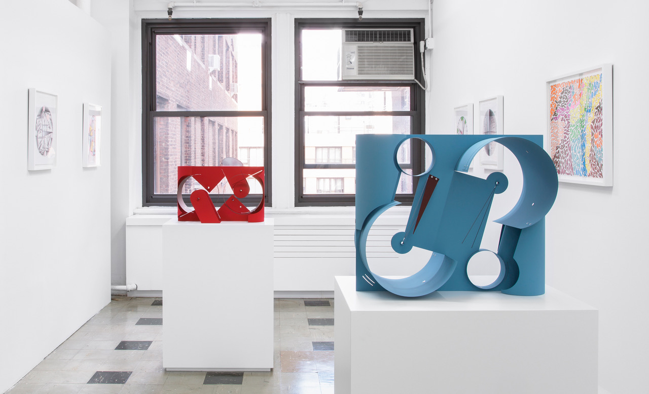 "Matt Paweski, ""Sanou Oumar & Matt Paweski,"" installation view, Gordon Robichaux, New York, 2018"