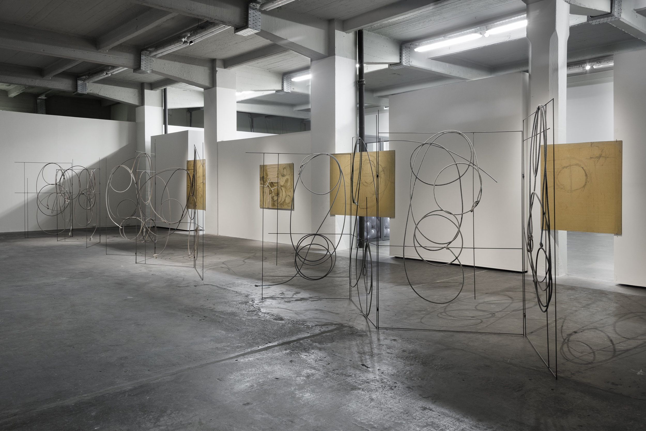 "J. Parker Valentine, ""Full of Holes,"" installation view, Juan and Patricia Vergez Collection, Buenos Aires, 2017"