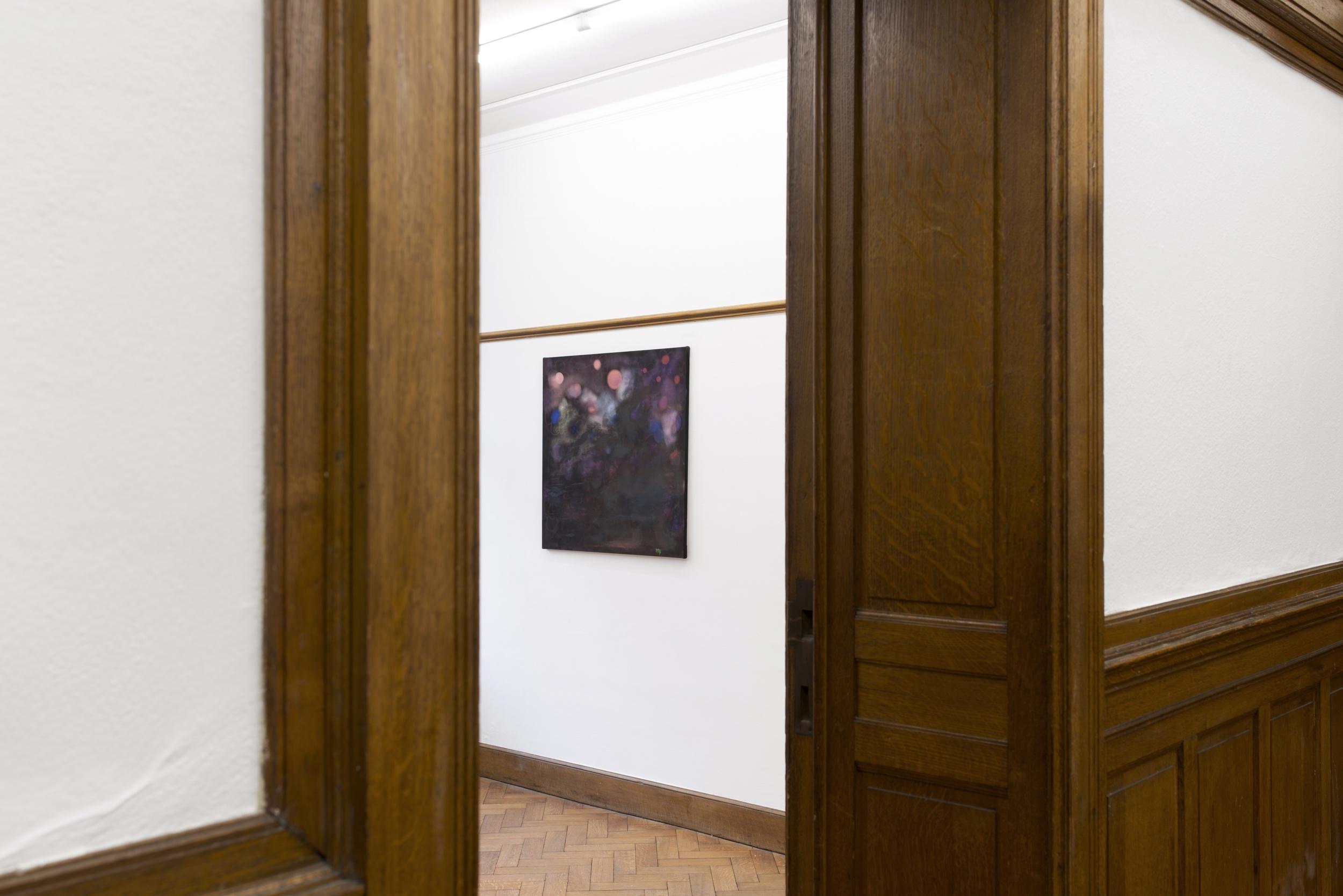 """Kate Spencer Stewart, """"La Peinture Abstraite,"""" installation view, La Maison de Rendez-Vous, Brussels, 2019"""