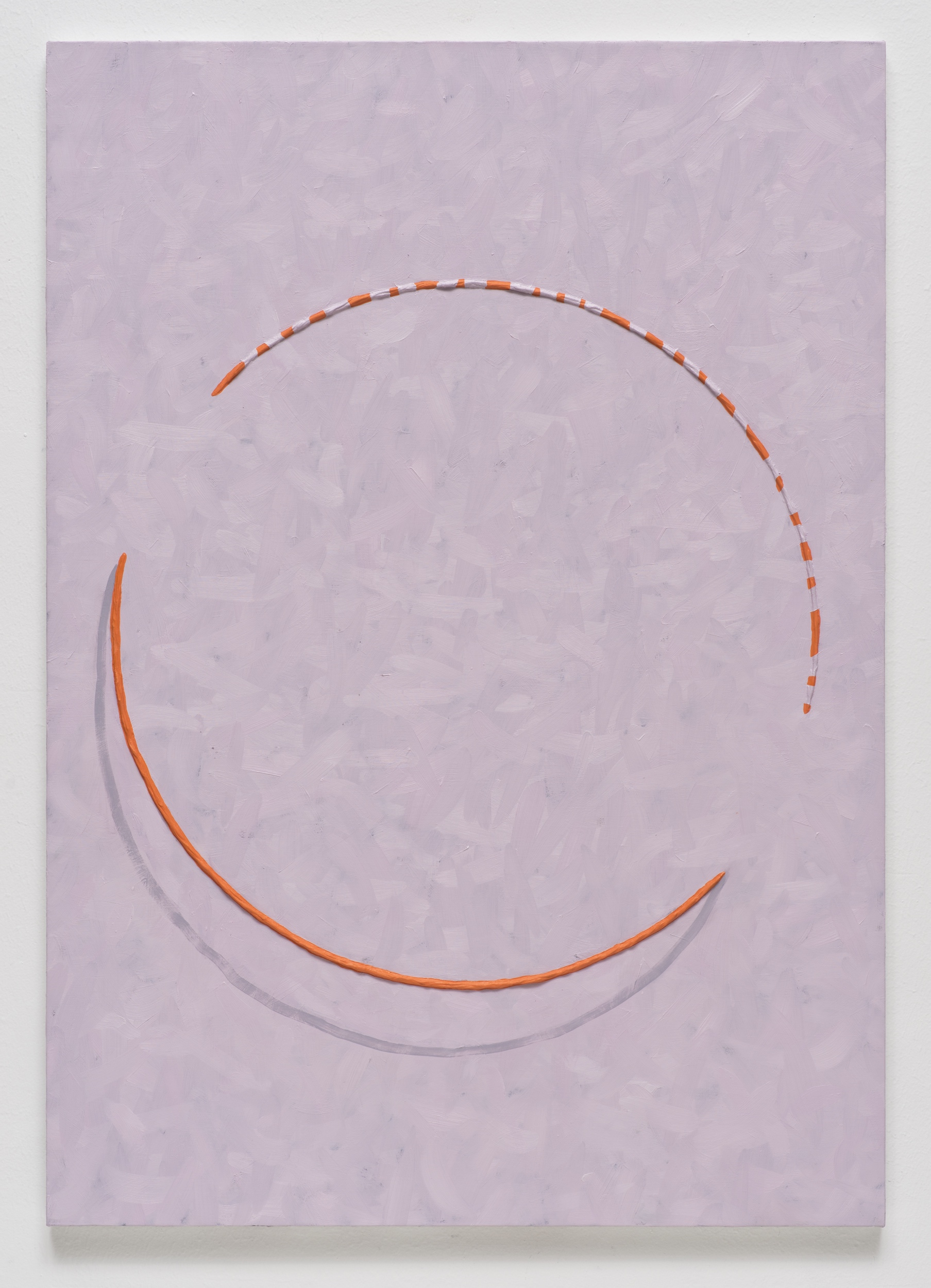 Alex Olson,  Lure 2 ,   2014, oil and modeling paste on linen, 41 x 29 inches (104.1 x 73.7 cm)