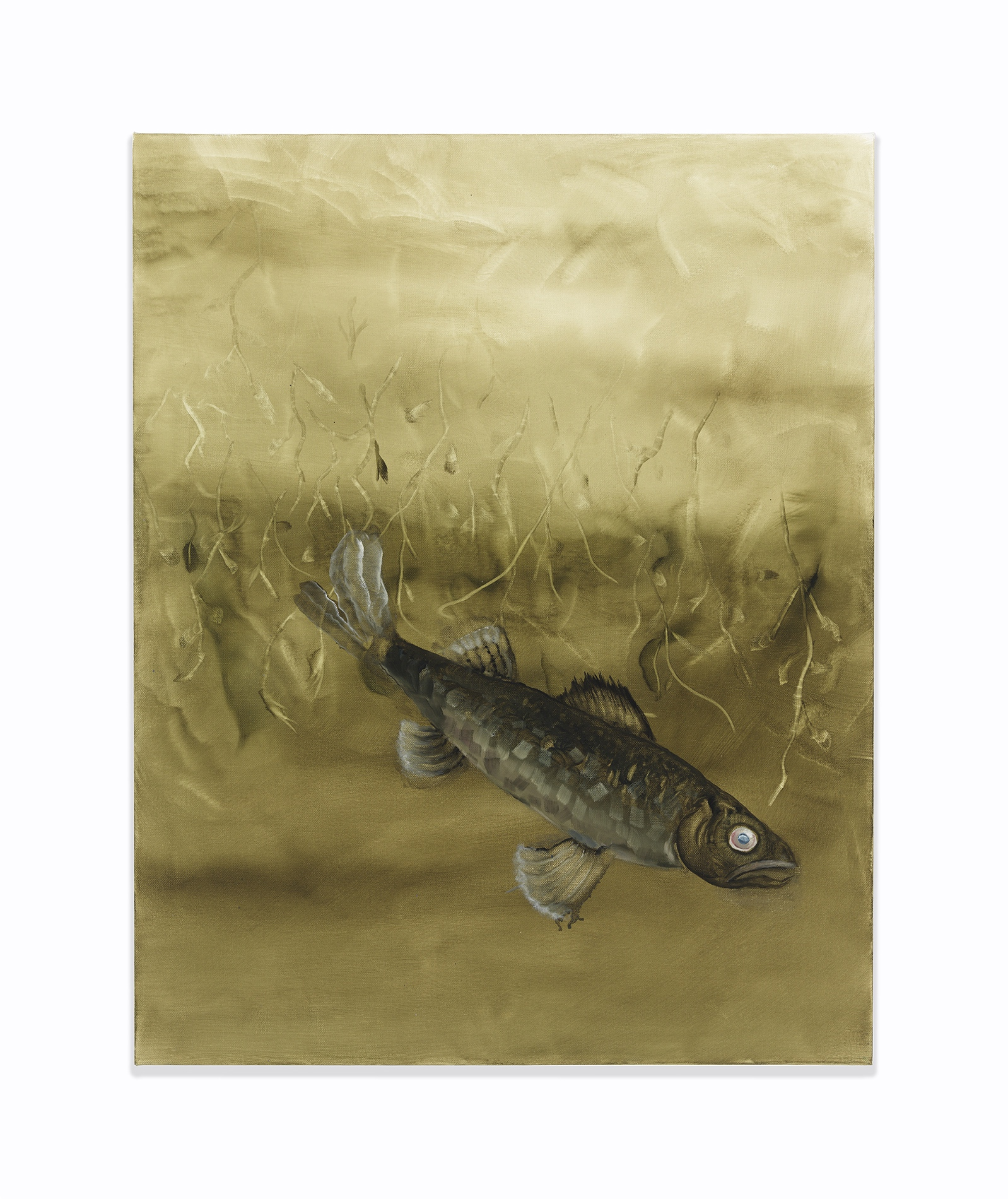 Autumn Ramsey,  Dead , 2016, oil on canvas, 30 x 24 inches (76.2 x 60.9 cm)