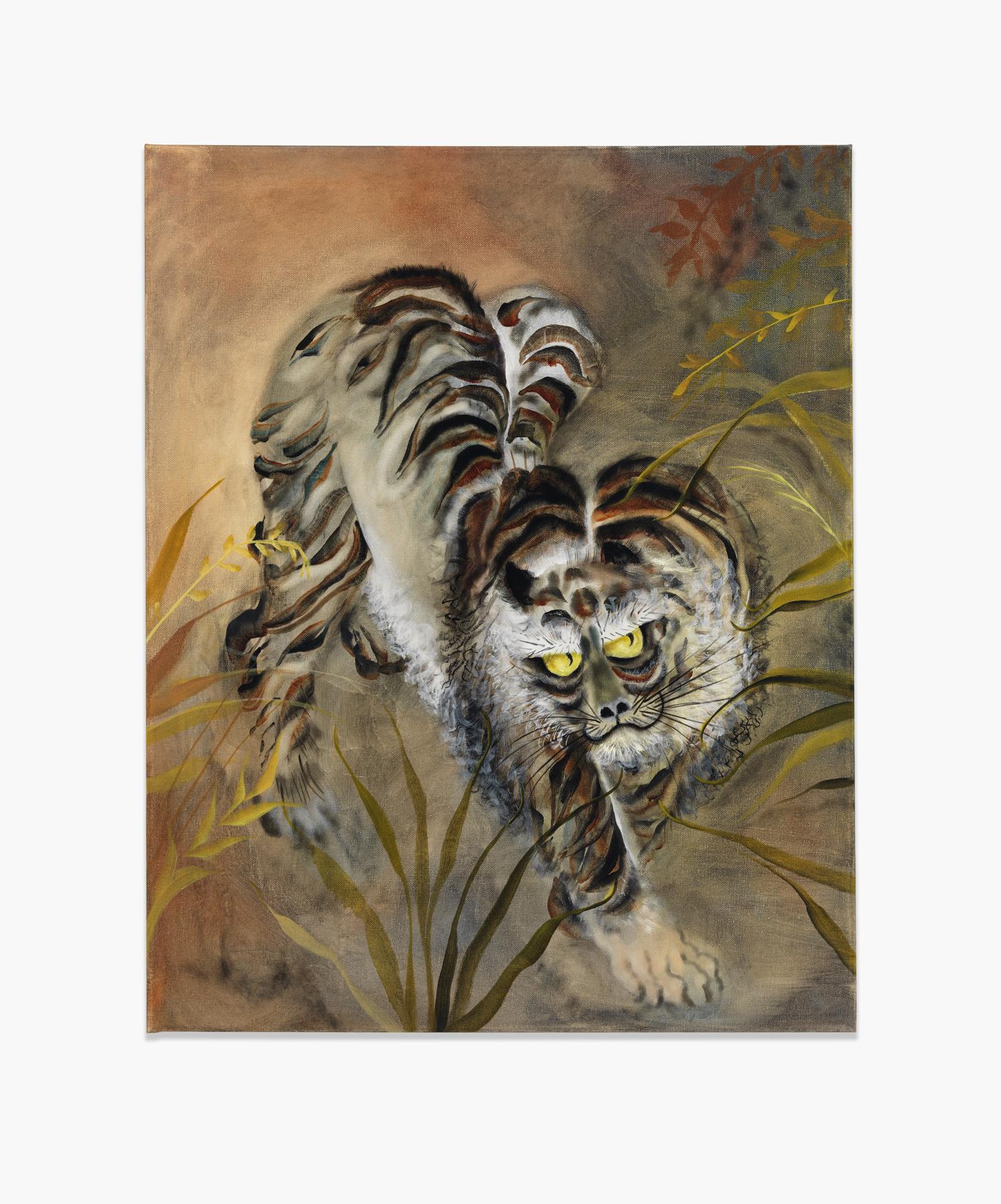 Autumn Ramsey,  Chupacabra , 2015, oil on canvas, 30 x 24 inches (70.6 x 60.9 cm)