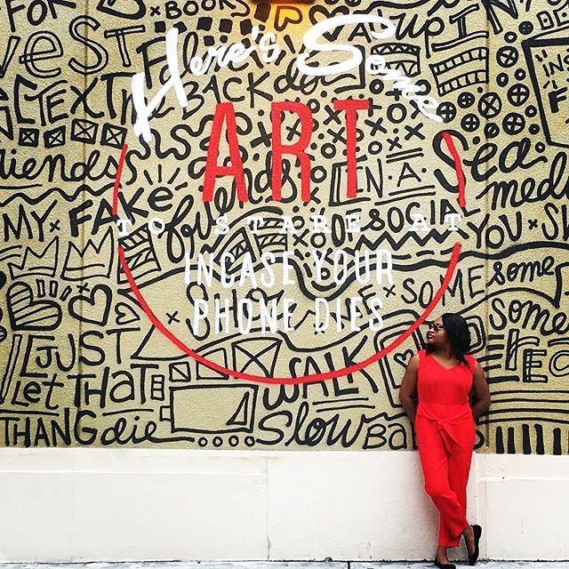 "#repost @wpbaedistrict ・・・ ""Inspiration exists, but it has to find you working."" -Pablo Picasso 🎨: @caylabirk 📸: Wonsha J. (@solelycurious) 📍: @rosemarysquarewpb #wpbARTS #ilovewpb #roamingrosemary #rosemarysquarewpb . . . . . #westpalmbeach #wpb #palmbeach #palmbeachesfl #shadesofculture #lovefl #visitfl #sofla #soflo #southflorida #florida #561 #ihaveathingforwalls #mural #art #instaArt #artsy #artlovers #arthunter #artist #artistsoninstagram #streetart #sprayart #graffiti #graffitiart"