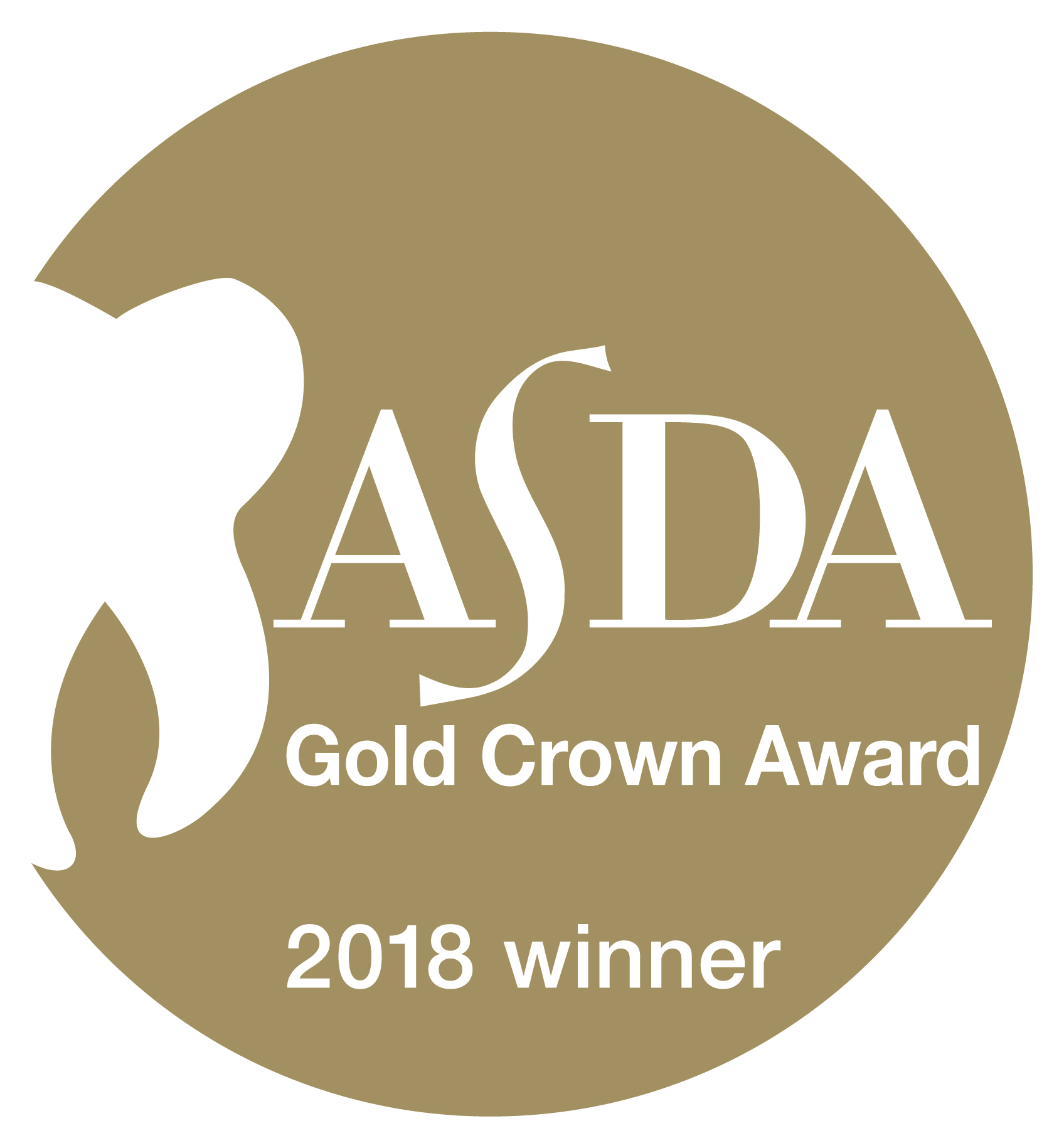 We are proud recipients of the ASDA Gold Crown Award for our newsletter! -