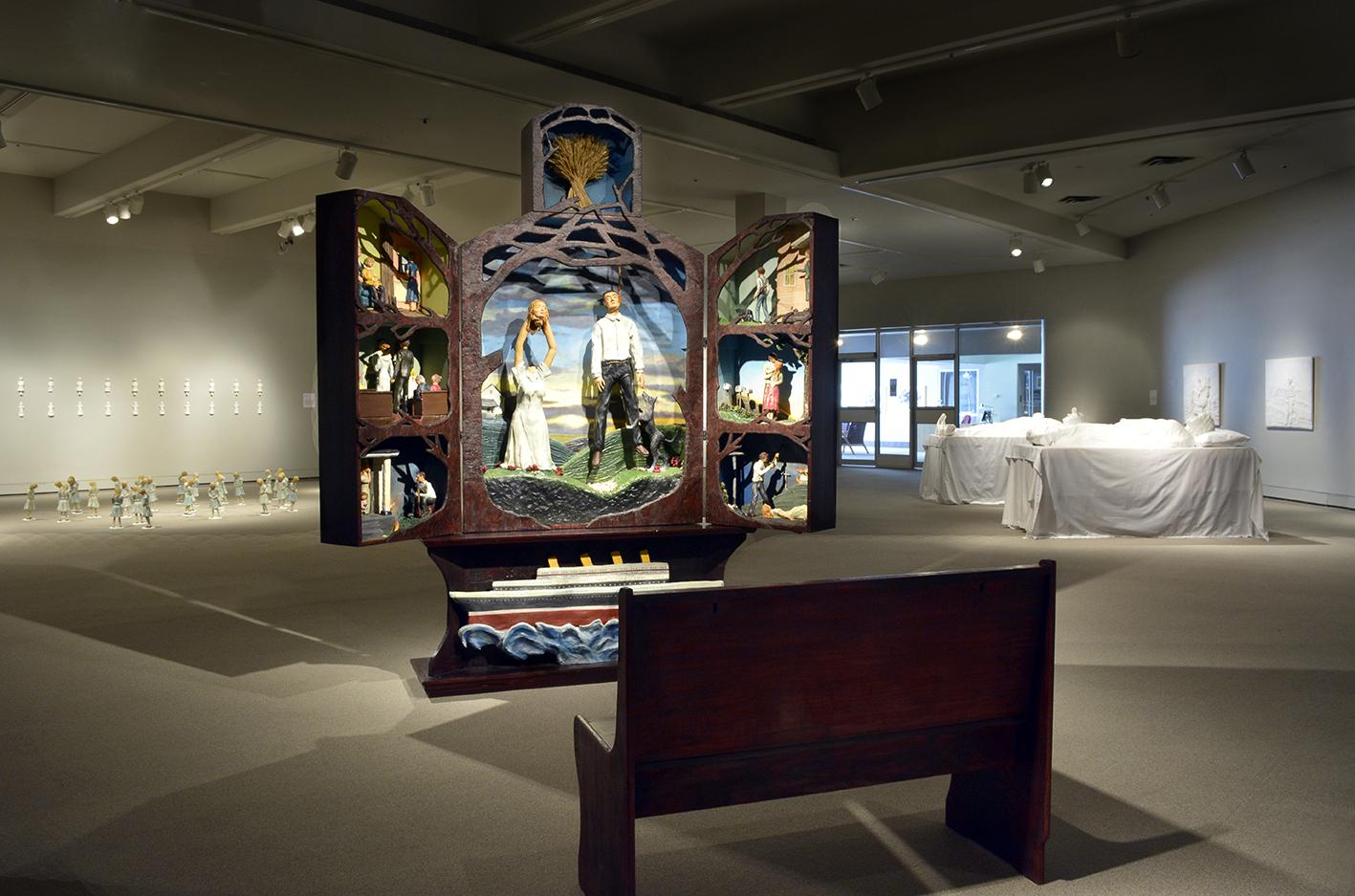 Moose Jaw Museum & Art Gallery inside