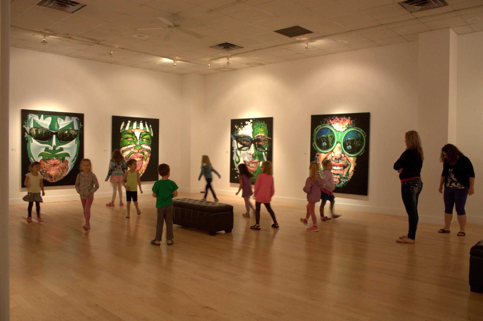 Estevan Art Gallery & Museum inside