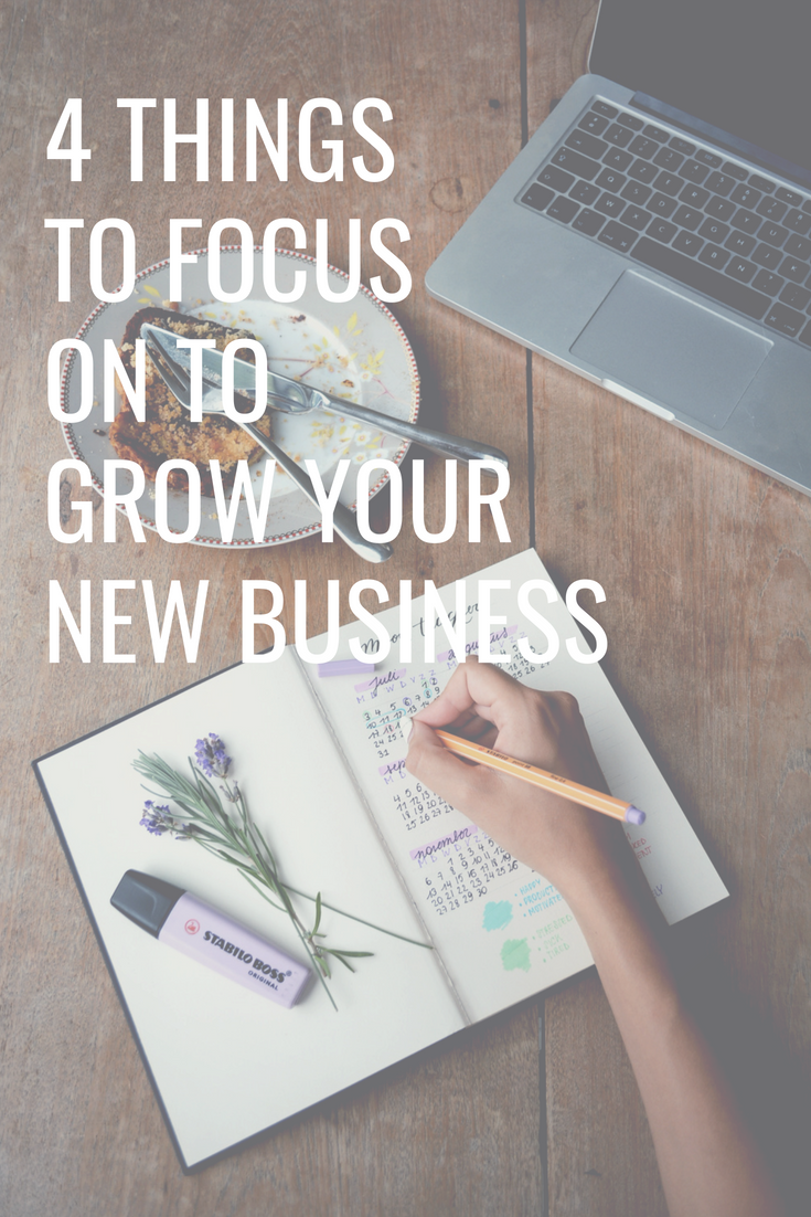 4 Things to Focus On to Grow Your New Business