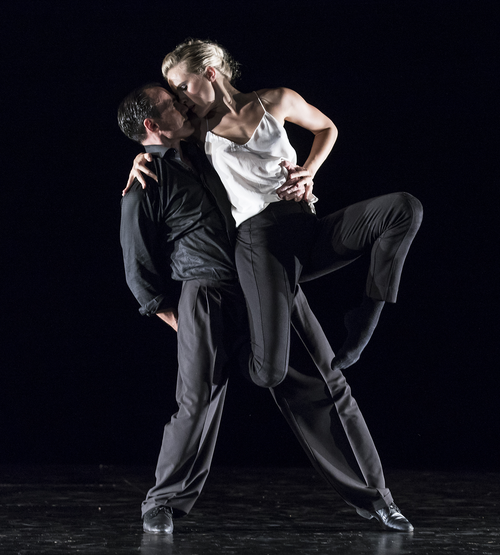 the evening's most brilliant encounter, the finale between Saxon and Moreno. This was as thrilling as performance gets — the great elegance of the tango master meeting the headlong exuberance and risk-taking of youth. - CHARLES DONELAN, Santa Barbara Independent