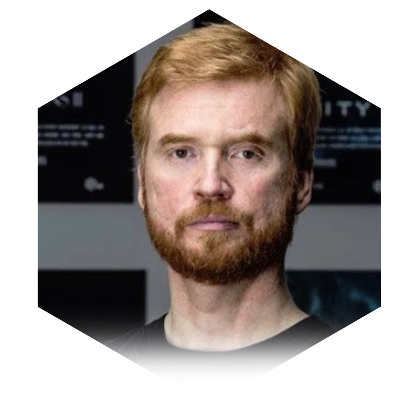 Hilmar Pétursson, CEO of CCP, makers of EVE Online. Previously its CTO -