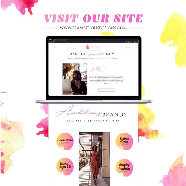 If you haven't explored our new site yet be sure to head over to be www.beambitiousdesigns.com today!  Three reasons you should allow Be Ambitious Designs take your business to another level.  1. Dealing with Graphic Design you want to keep your look consistent. AT ALL TIMES  2. If you use different fonts, colors, logos, different messages everywhere on your website then it won't look professional. Which means you won't stand out from your competitors. Also, customers watch those little details and ensure that every piece of marketing communications fits with everything else.  3. Your work is your brand this is what makes your business flow and grow. You will look more professional and put together if EVERYTHING does, in fact, fit together.  Let me take your business from your DREAMS to REALITY. Visit my website at  www.beambitiousdesigns.com  #revamp #graphicdesign #atlgraphicdesigner #atlwebdesigner #atlanta #atl #colordesign #pinkandyellow #ineedagraphicdesigner #uniquedesigns #blackisbeautiful #marketing #marketingdigital #market #goodcredit #promotion #likethis #raevenbailey #beambitiousdesigns