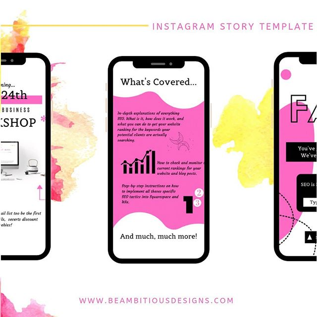 Let's grow your following and increase your sales by creating better content! Let us help you REVAMP your Instagram today!  Link is in the bio 💻 #revamp #graphicdesign #atlgraphicdesigner #atlwebdesigner #atlanta #atl #colordesign #pinkandyellow #ineedagraphicdesigner #uniquedesigns #blackisbeautiful #marketing #marketingdigital #market #goodcredit #promotion #likethis #raevenbailey #beambitiousdesigns