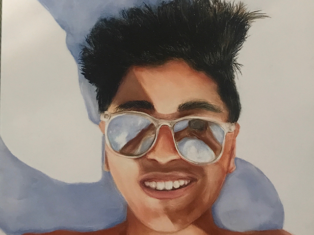"""""""Selfie,"""" by Kyan Patel"""