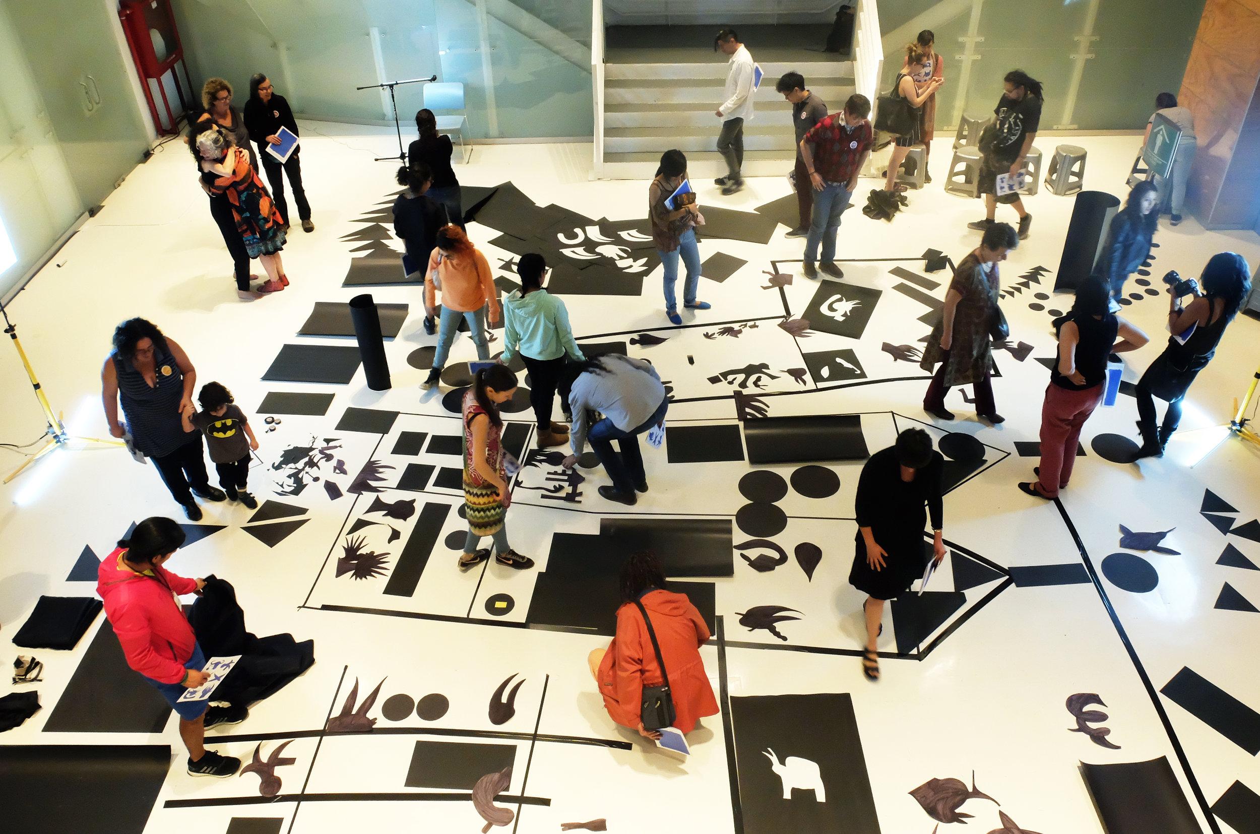 Lectura 2018 , presentación en Museo Universitario del Chopo en el marco del Cuerpos en Revuelta Festival Internacional de Butoh, CDMX, 2018.