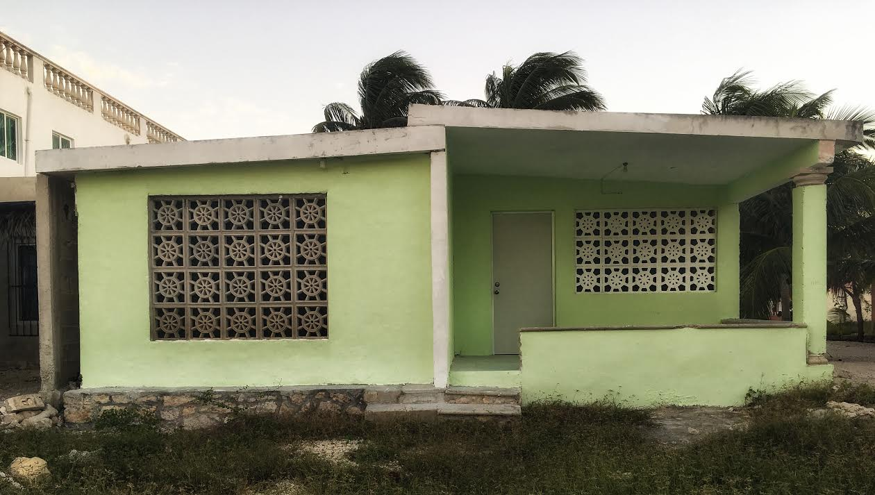 Casa de la playa, Chelem, Yucatán 2018.