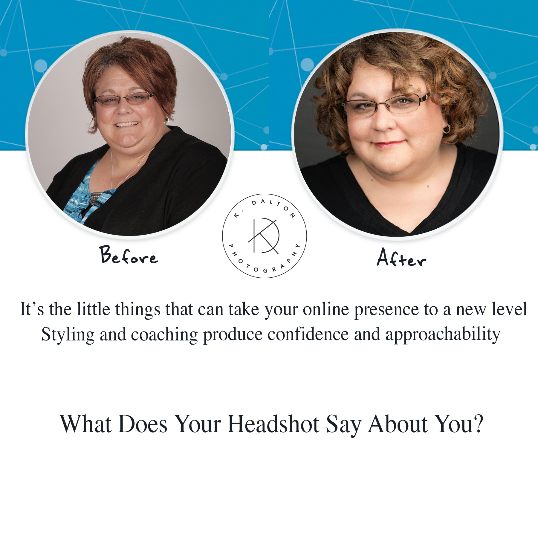 Rhonda Mitchell LinkedIn Headshot with glasses