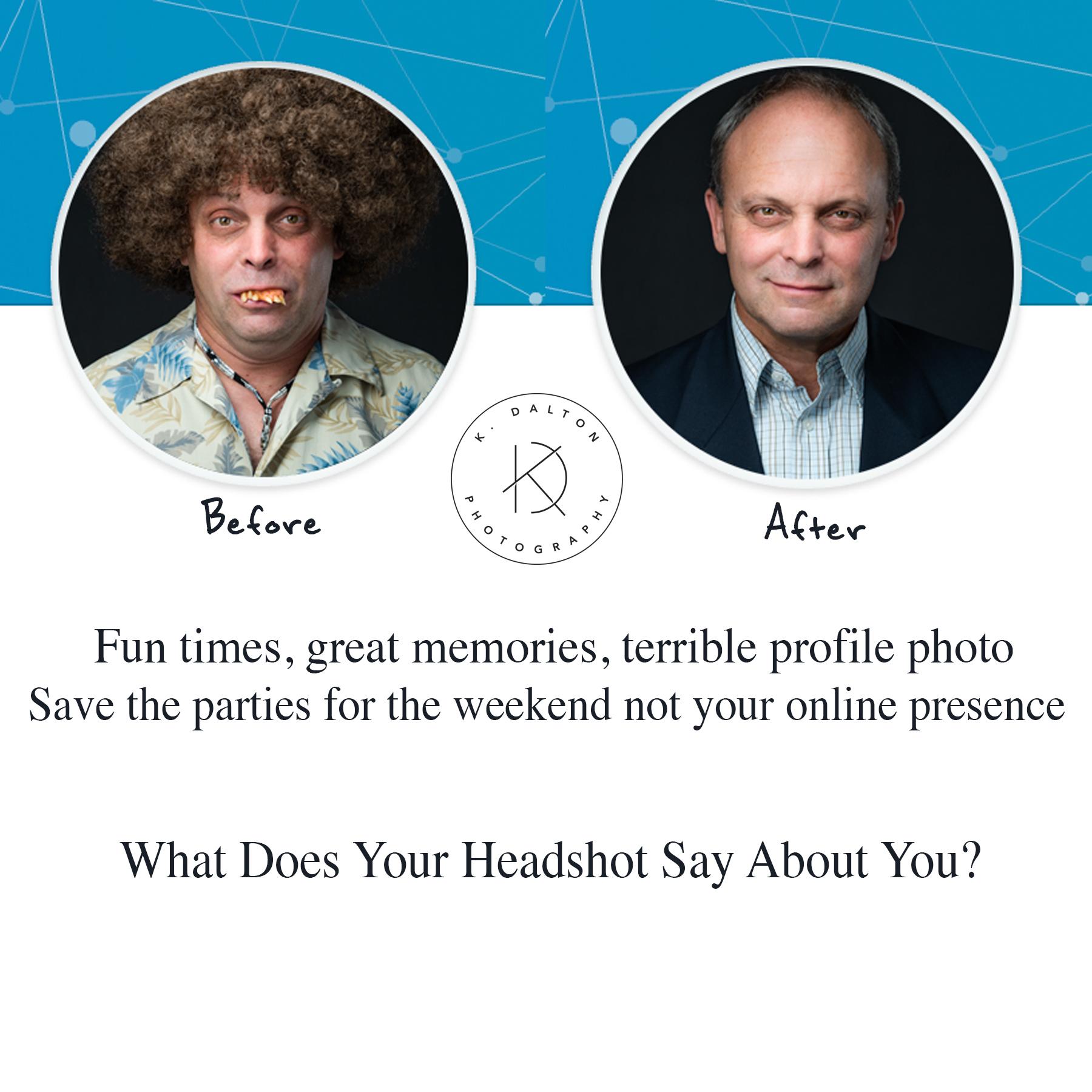 Business Headshot LinkedIn