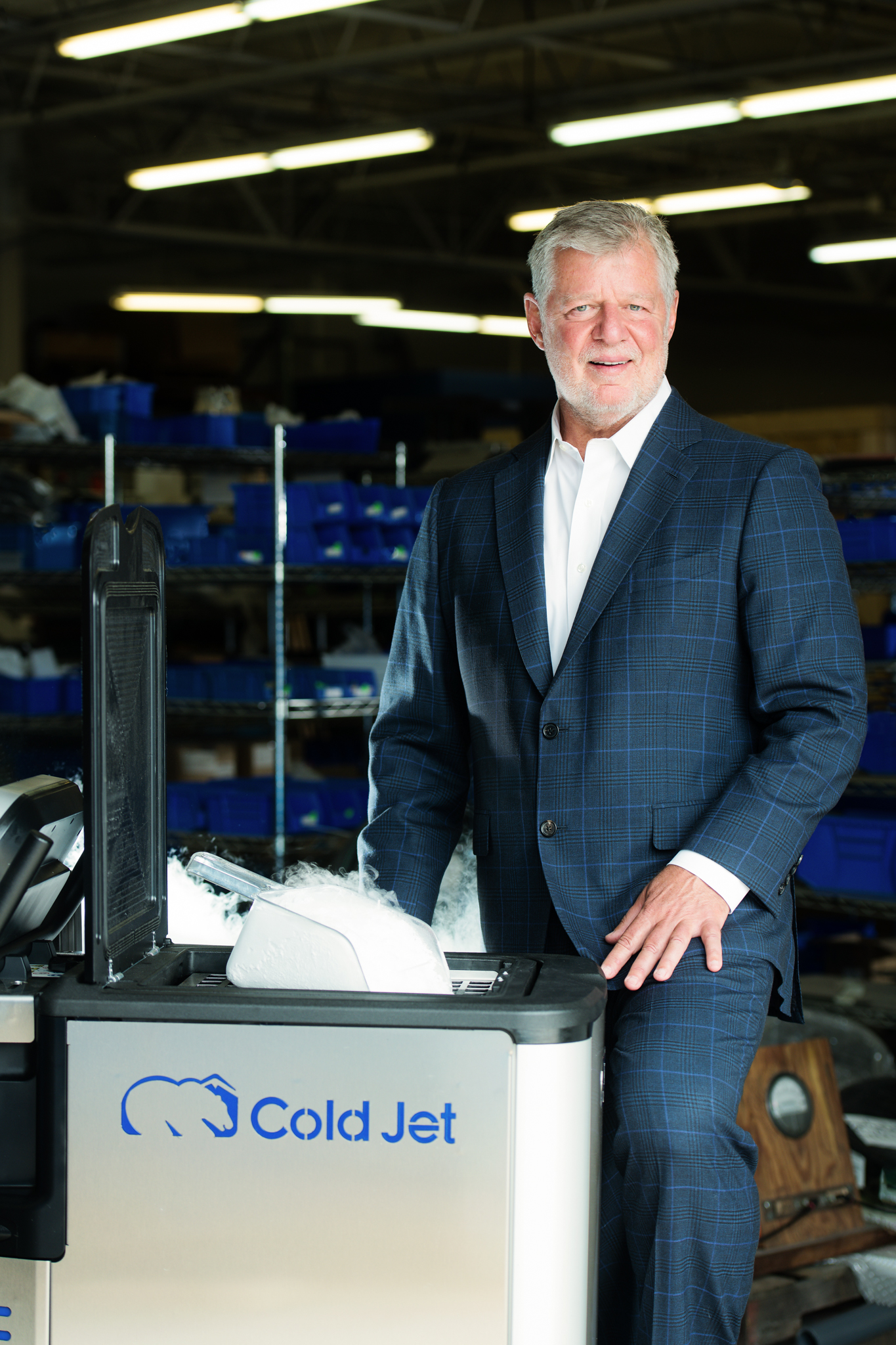 Cold Jet Gene Cooke
