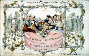 Henry Cole Christmas card, 1843.