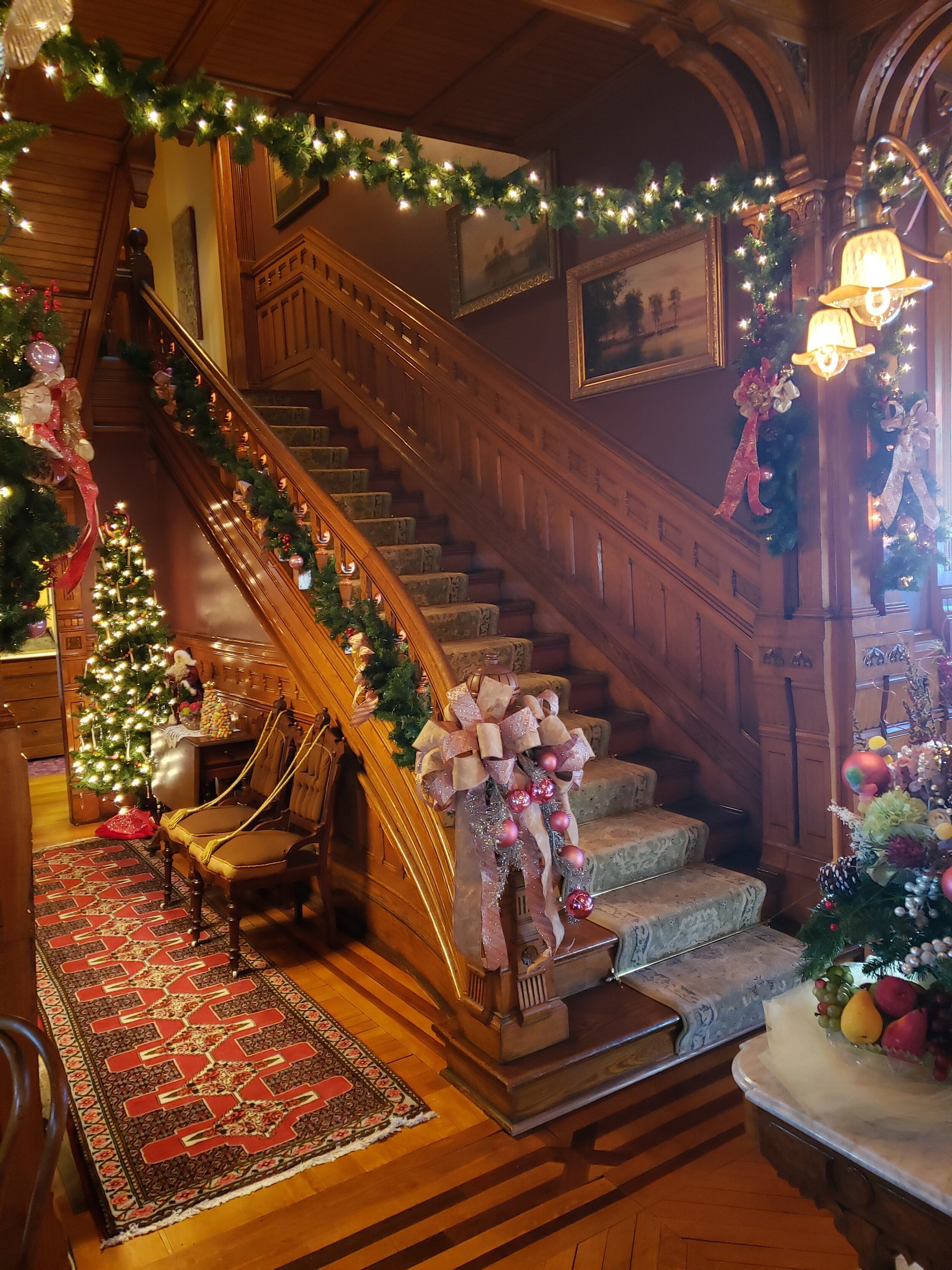 Holiday Home Decor Hearthstone Historic House Museum
