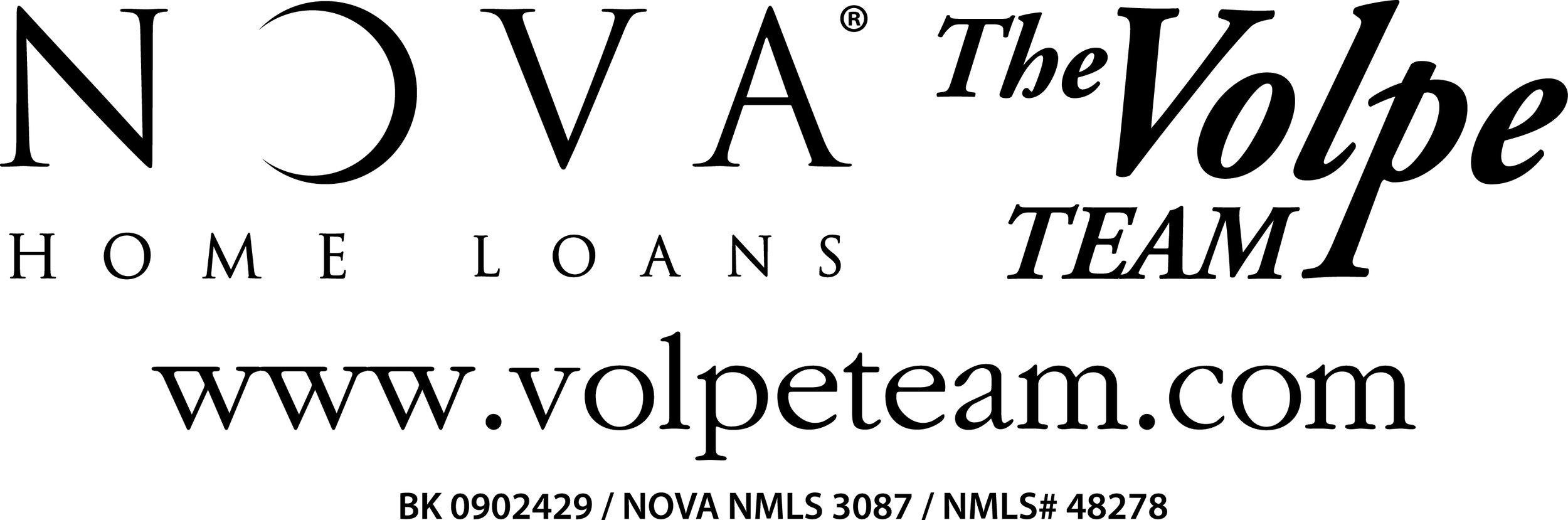 Nova Home Loans - the Volpe Team - Badge Sponsor