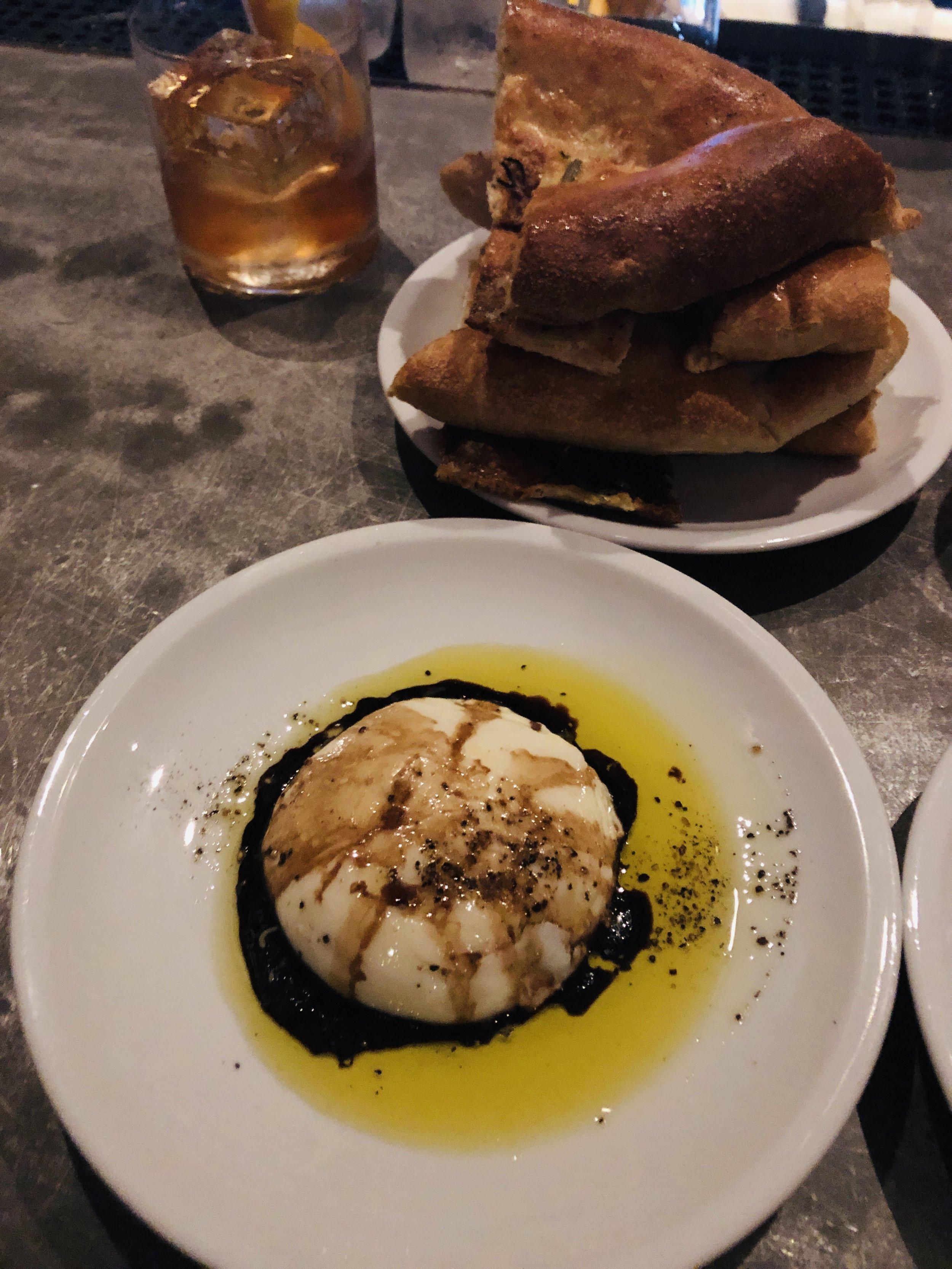 Drool-worthy: Ciabtta and Burrata at    Coltivare